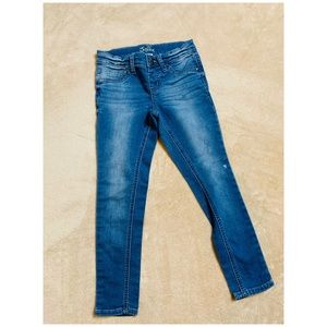 Justice jeggings size 7